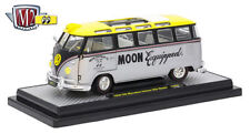 M2 MACHINES 1:24 AUTO THENTICS VOLKSWAGEN VW MICRO BUS MOONEYES 40300-MOON01B