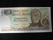 Lot of 30 UNC Sequential Banco Central De La Republica Argentina Cincuenta Pesos