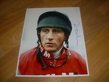 Peter NIVEN  Horse Racing NH JOCKEY 07/12/95 Original Hand SIGNED Press Photo