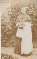 Photo ancienne écclésiastique prêtre