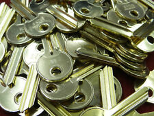 10 OFF 1A  NEW  SHINY  BLANK  CYLINDER  KEYS