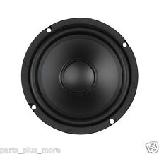 "New 6-1/2"" Woofer Rubber Surround 8 Ohm 6.5"" Replacement Speaker Poly Cone A+"