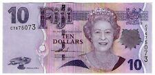 **   FIDJI     10  dollars   2007   p-111a    UNC   **