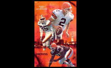 Rare CLEVELAND BROWNS 2002 POSTER - Tim Couch, Kevin Johnson, Gerard Warren