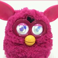 Furby All Pink 2012 Talking Tiger Electronics Doll Interactive Toy Pet Hot Pink