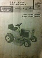 Montgomery ward marca trator para cortar grama jardim leme montgomery ward riding lawn yard tractor 36 mower owner parts fandeluxe Images