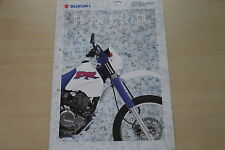 170117) Suzuki DR 350 S 350 SE 350 SH Prospekt 10/1993