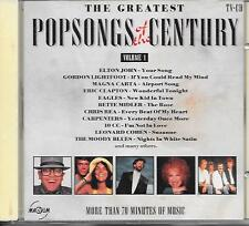 V/A - The greatest popsongs of the Century VOLUME 1 CD 18TR (MAGNUM) 1990 Eagles