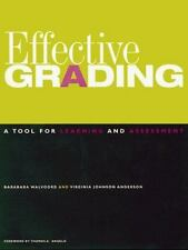Effective Grading: A Tool for Learning and Assessment (Jossey Bass Higher and