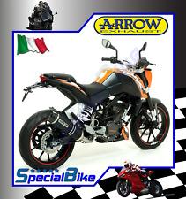 KTM DUKE 125 2011 > SCARICO ARROW STREET THUNDER ALLUMINIO DARK COPPA CARBY