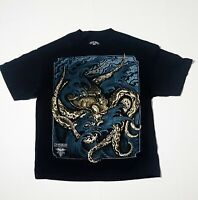 Sullen Art Collective INK-EEZE Tattoo Lifestyle  Men's t- shirt Black Cotton XL