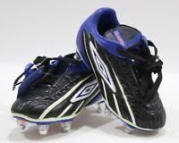 Umbro Football Boots Zv Pro II (L) SG JNR Child Size 10 Black/Blue retro