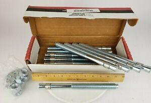 "Box Of 10x Red Head Trubolt  GWS-34100 Concrete Wedge Anchor 3/4"" X 10"" 3A467"