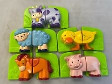 New ListingLeap Frog Phonics Fridge Farm Magnetic 5 Animal Pairs Replacemnt to Frog unit