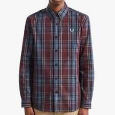 Fred Perry M7565 Tartan Check Shirt Sizes M-XXL RRP£90