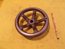 "8"" HAND WHEEL x 3/4"" HOLE for lathe milling machine metal shaper or drill press"