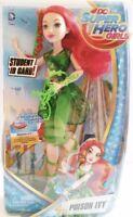 """DC Super Hero Girls Poison Ivy 12"""" Doll Action Figure Mattel BNIB"""