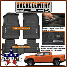 BackCountryTruck 2015-2019 Chevrolet Colorado / GMC Canyon Crew Cab Floor Mats