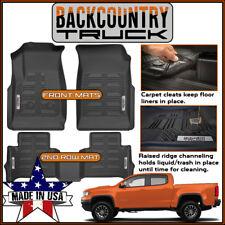 BackCountryTruck 2015-2019 Chevrolet Colorado / GMC Canyon Crew Cab Floor Mats