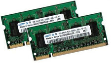 2x 1GB 2GB RAM SAMSUNG Speicher ASUS ASmobile A3 Notebook A3Fc DDR2 667 Mhz