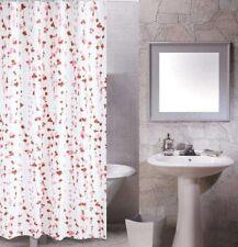 Purple & Pink Flowers Picture Design Bathroom Fabric Shower Curtain ys278 c