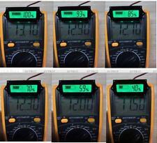 24V 1*LCD Indicator Lead-acid LiPo Battery Power Capacity Tester/Monitor/Checker