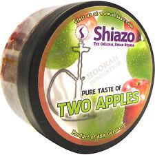 Shiazo Dampfsteine Two Apples DOPPEL-APFEL - Steam Stones 100 g nikotinfrei