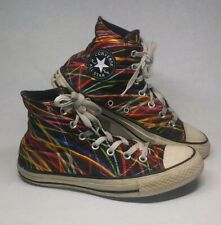 Converse All Star Chuck Taylor Mens 6, Womens 8 Neon Stripped