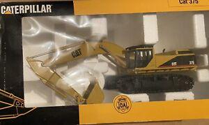 JOAL #189 CATERPILLAR 375 Hydraulic Excavator  1:50 Scale Mint Boxed Cat Vintage