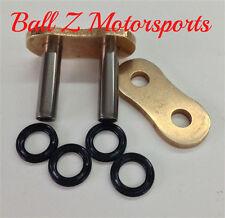 530ZVX3-MLJ/G EK Rivet Connecting Masterlink ZVX3 530 Pitch Gold Chain Chains!