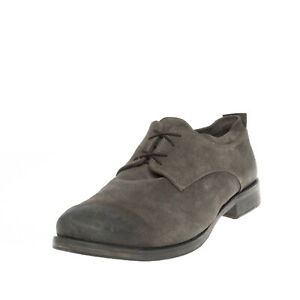 RRP €240 DEVON Suede Leather Derby Shoes EU 44 UK 10 US 11 Treated Made in Italy