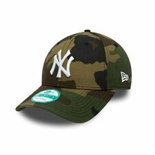Camouflage 100% Cotton NY Hats for Men