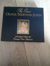Olivia newton john ( the great) rare oop Australian cds