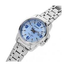 Orologio Da Polso CASIO LTP-1314D-2AVDF Analogico Donna Acciaio Data Q Blu lac