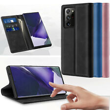 For Samsung Galaxy Note 20 Ultra S20+ Leather Flip Stand Case Wallet Card Cover