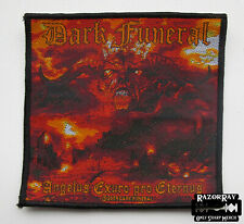 DARK FUNERAL - Official Woven Patch / Marduk Setherial Enthroned Lord Belial
