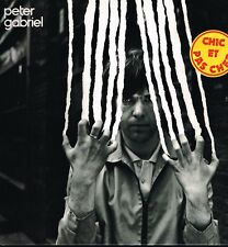 "LP 12"" 30cms: Peter Gabriel: on the air. virgin charisma. G1"