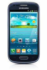 New Samsung Galaxy S III S3 Mini SM-G730A 8GB  Blue AT&T GSM Unlocked LCD SHADOW