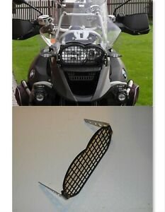 BMW R1200GS 2004-12 Headlamp Grill Guard Headlight Cover Protector BLACK