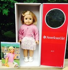 American Girl Kit Doll + Book Paperback NIB & 18 inch Retired Classic