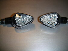 2X LED TURN SIGNAL CHROM HARLEY DAVIDSON VROD,TWIN CAM,CHOPPER,S