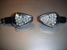 2X LED TURN SIGNAL CHROM HARLEY DAVIDSON VROD,TWIN CAM,CHOPPER,S