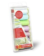 Gutermann Sew All Thread Set - NOTTING HILL - Blues / Purples / Greens - 7 Reels