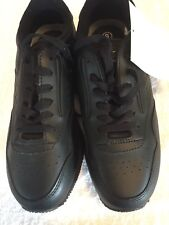 ATHLETIC WORKS NON MARKING BLACK SHOES SIZE 9