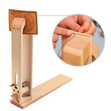 Wood Leather Craft Hand Diy Table Sewing Tool Stitching Lacing Pony Horse Clamp