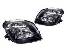 DEPO JDM Black Housing Replacement Headlight Pair For 1997-2001 Honda Prelude