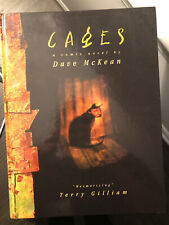Cages by Dave McKean, Complete Edition, 1st Printing Rare Oop Hardcover
