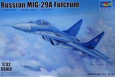 Trumpeter Russian Russische MIG-29A Fulcrum 1:32 Bausatz Kit 03223 Flugzeug