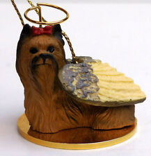 Yorkshire Terrier Angel Dog Ornament Conversation Concepts,Tiny Ones,Item Dta04
