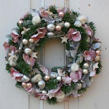 FRI-Collection Adventskranz Türkranz Kranz künstlich mit Weihnachtskugel 30 cm